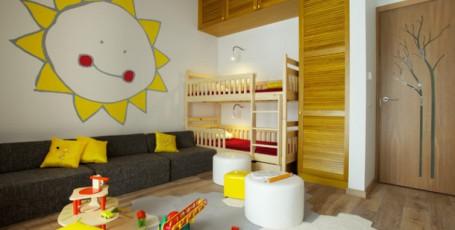 Оформление детской комнаты с учетом темперамента ребенка