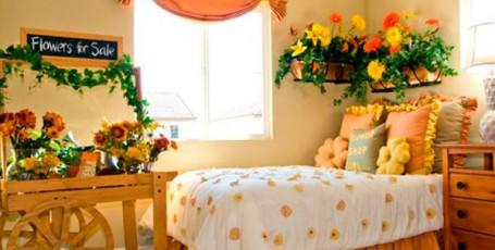 Растения и цветы в детскую комнату